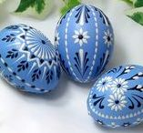Russian Easter / Beautiful gift and food ideas for a Russian style Easter.