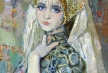 Russian Paintings & Illustrations / Beautiful artwork by Russian artists.
