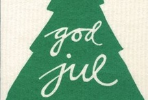 Sweden - God Jul  / God Jul means Merry Christmas in Swedish / by DalaHorse MANIA