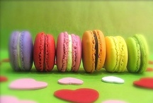 Macaron for FIKA / Macaron is originally from France and very popular for FIKA in Sweden.   I couldn't resist pinning them for its COLORFULNESS !! / by DalaHorse MANIA