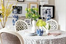 Dining in style / Some great and fresh ideas for your dining area.  #dining #table #area #decor #design