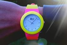 Random Jolli Time designs / Find your inner colors and design your own Jolli Time watch at www.jollitime.com