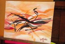 Art Life / Artist, Creative, DIY Projects, Abstract Art, Abstractions