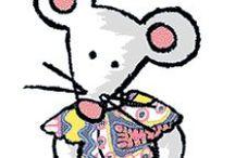 RIMINI la souris / Un personnage et des albums pour grandir. Visiter le site : http://www.minimat.net/