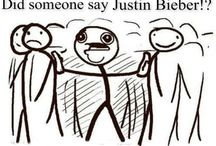 Bieber humour / Because only us, belieber can laugh about him