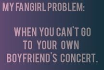 My fangirl problem.