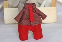 12 inch Bunny Wardrobe / Clothes for my 12 inch Bunny Rabbit Doll