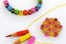 SCHOOL PROJECT / Ideer og impulser som inspirasjon til gjenbruksprosjekt.