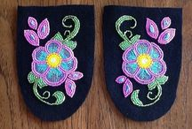 Mocs and beadwork / by Oohweedeh