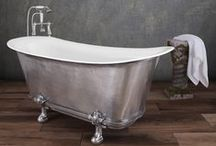Cast Iron Baths / Our stunning collection of original Cast Iron baths in a number of colours and finishes
