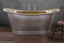Brass Baths / Our stunning collection of original Brass baths