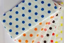 POLKA DOTS NAPKINS / THIS IS OUR LATEST NEW RANGE FOR SUMMER AND SPRING SEASONS 2015 POLKA DOTS NAPKINS FOLD 1/8 IN 14 WONDERFUL COLORS