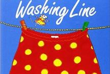 The washing line (clothes & colours)