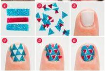 Nail Art tutorial, turorials, DIY / Full of tutorials, DIY, tutoriales Nails, Nails, Nails, Uñas, Uñas, Uñas, nail art