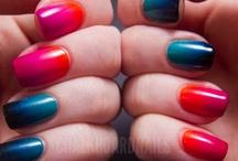Gradient Nails // Uñas degradadas / Gradient nails // ongles degradés //  uñas degradadas