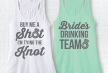 Bachelorette Party / Ideas for invites and party ideas for a girls' night out before the big day.