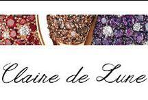 Claire de Lune / #Bibigi: Oro bianco e rosa,diamanti, ametista, quarzo fume', granato.