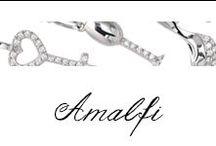 Amalfi / Ciondoli in oro bianco e diamanti