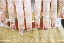 Knuckle Rings / Knuckle Rings are the new trendy jewels
