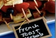 Food Display / Ideas for fun, funky, interesting food display!