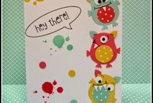 Owl punch cards and ideas