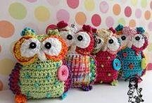 Háčkované sovičky (Crochet Owls)
