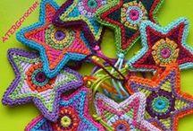 Háčkované hvězdičky (Crochet Stars)