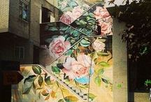 Wall Paper / Mood, Flowers, Silk and Pattern