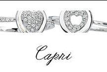 Capri / #Bibigi | Collezione #Capri | Gioielli in oro bianco e diamanti.
