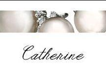Catherine / #Bibigi | Collezione #Catherine | Gioielli in oro bianco, perle e diamanti