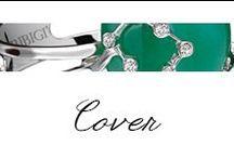 Cover / #Bibigi | Collezione #Cover | Gioielli in oro bianco, oro rosa, diamanti e pietre dure.