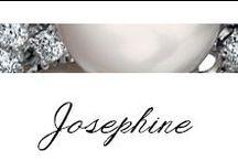 Josephine / #Bibigì | Collezione Josephie | Gioielli in oro bianco, diamanti e perle.
