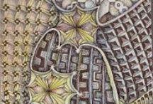 Zentangle / Voorbeelden van Zentangle (doodle)
