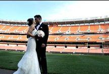 A Laugh Staff Wedding / Co-founder Cameron Amigo shares photos from his wedding at Cleveland Browns Stadium.