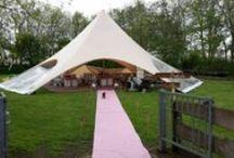 Bruiloft tenten / We zijn net begonnen op Pinterest, maar we zullen zo veel mogelijk tenten en opstellingen plaatsen ter inspiratie voor een ieder die erin geïnteresseerd is!  tent4rent.nl/bruiloft-tent