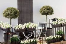 Balcony, terrace, patio - Balkong, terrass, uteplats