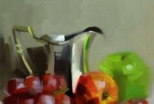 Fruits and Vegetables Paintings
