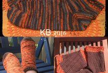 Sokker / Hækling crochet