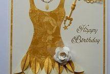 Birthday/Celebrate Cards / by Roxanne Tucker