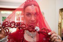 Asian wedding bridal outfit and photography styles / www.harvestcreativemedia.com/asian-weddings/