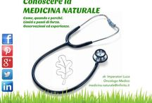 Conoscere la MEDICINA NATURALE / Pagina dedicata alla Medicina Naturale, i limiti, le potenzialità, in una concezione integrata, nella cura delle malattie.