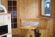 Legno design / Wood design / Il legno, un materiale così semplice e naturale è ideale per costruire la tua casa rispetto dell'ambiente e dell'uomo. The wood, a material so simple and natural is perfect to build your hause respecting the environment and the man.