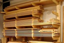 Wood Storage / Ideas for storing timber in the workshop