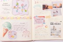 Diary & Doodle / Doodles, journaling, lettering and drawing