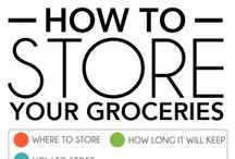 Fresh Produce Tips! / Tips for storing, caring for, and keeping your produce the freshest possible.