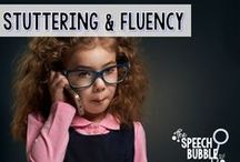 Stuttering/Fluency / Activities and ideas for fluency therapy