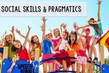 Social Skills/Pragmatics / Materials and ideas for targeting social skills