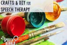 Crafts and DIY for Speech Therapy and Fun