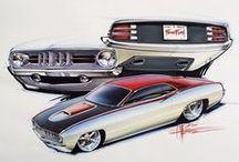 CAR DESIGN DRAWINGS