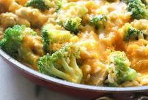 Broccoli + Pasta / Broccoli is an awesome addition to pasta dishes.  Check these out!